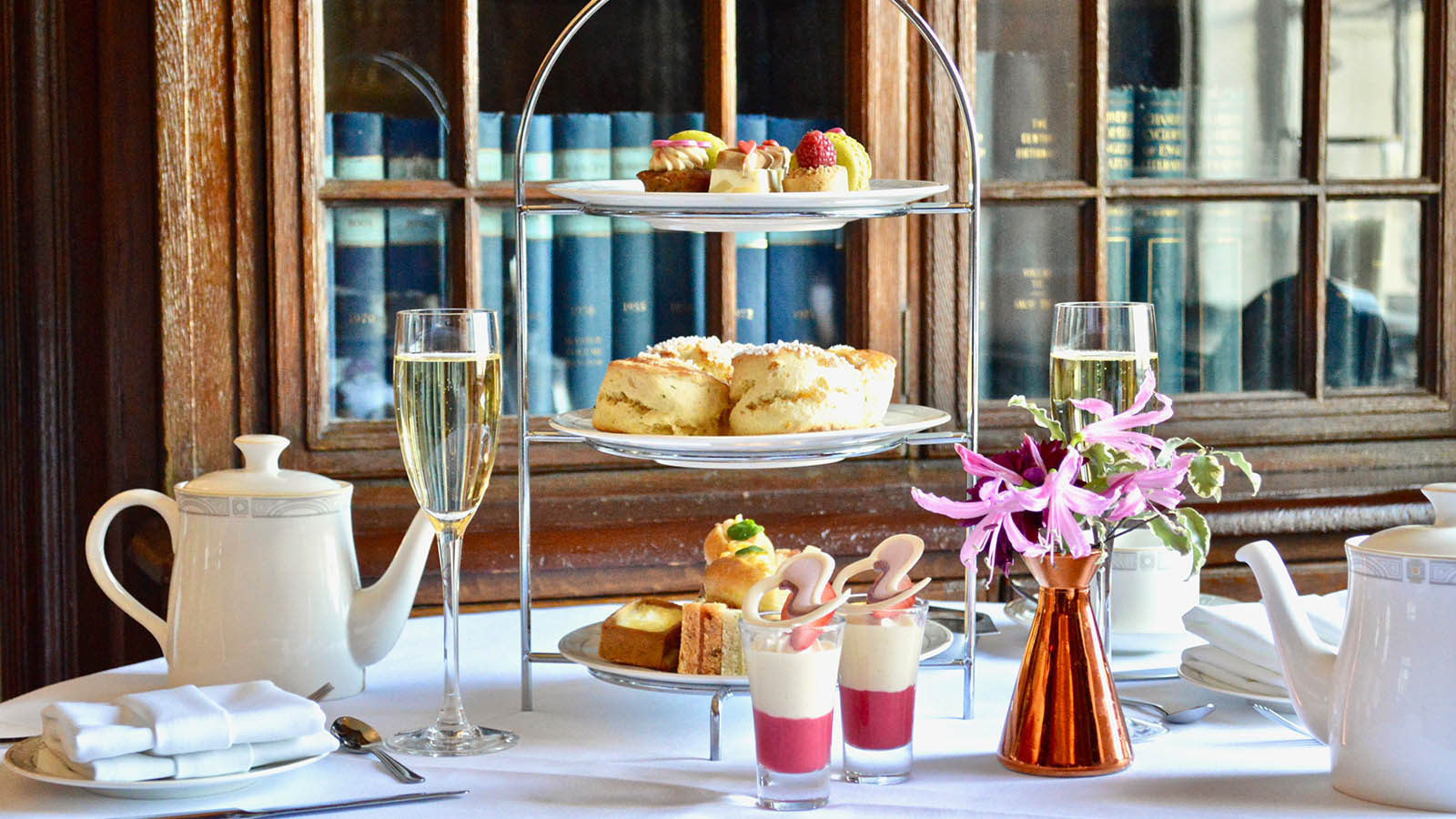 Free-flowing bubbles Afternoon Tea
